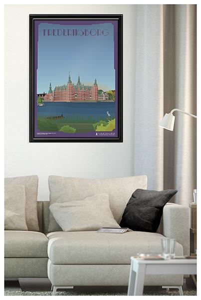 Frederiksborgslotplakat